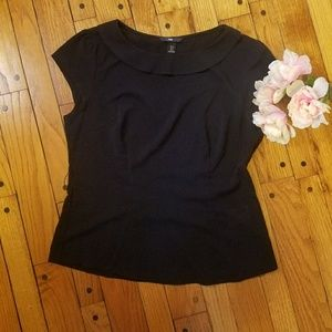 Cute black blouse